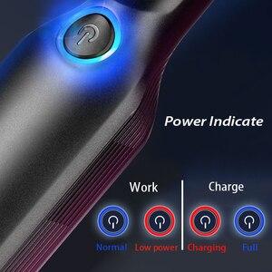 Image 3 - 13000pa şarjlı süpürge 120W araba kablosuz elektrikli el süpürgesi süper emme araba islak/kuru temiz HEPA filtre ile