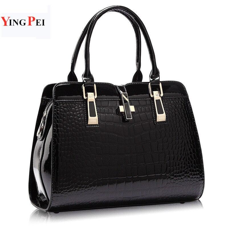 Bolsa feminina moda casual bolsas de couro de luxo designer bolsas de ombro novos sacos para mulher 2019 grande capacidade bolsa