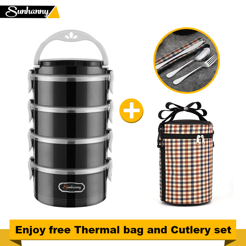 Image 2 - Hot lunch boxes healthy food containers bento boxes metal lunchboxes provide hot packs and wellness for childrens schoolsLunch Boxes   -