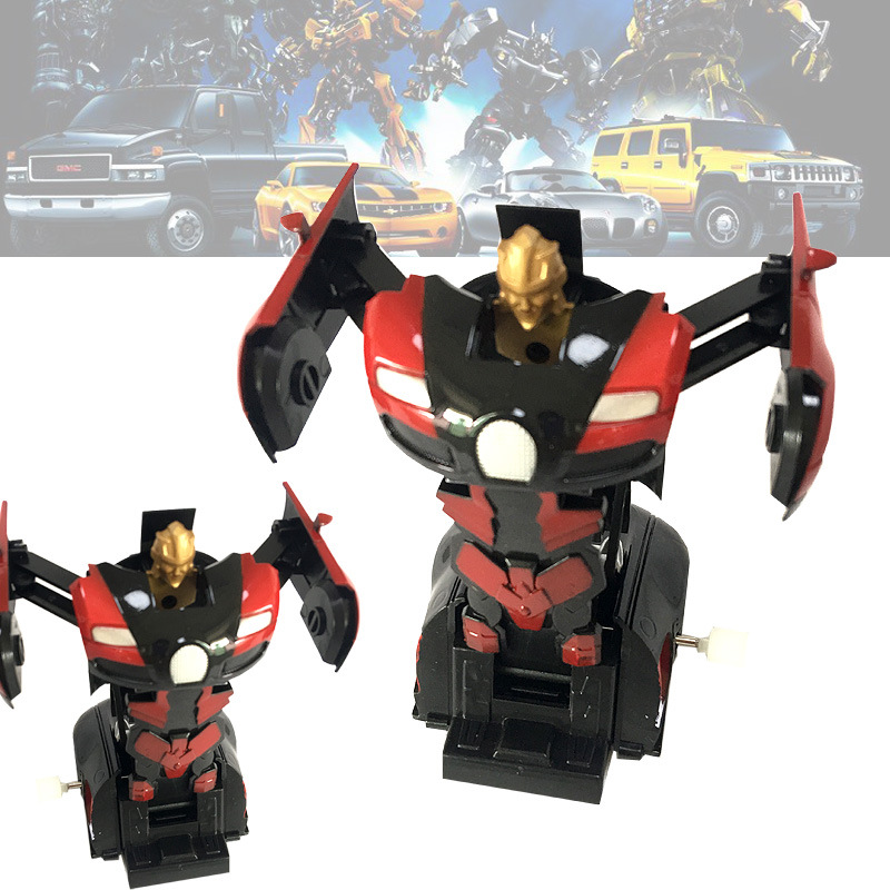 3C Quality Inspection Report Completed New Style Creative Stall Hot Selling Spring Transformation Robot Toys