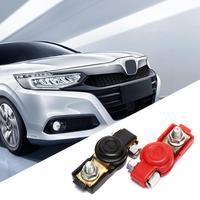 Conector de Terminal de batería de coche, accesorios universales de liberación rápida para batería, abrazaderas de terminales, 2 uds.