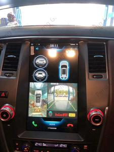 Image 2 - 12.1Inch Android 9.0 Tesla Vertical Screen For NISSAN PATROL 2010 2018 Car Player GPS Navigation Multimate Audio System FM Unit