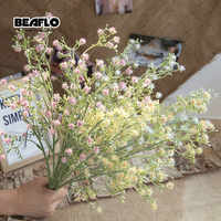 46cm 1pc Artificial Baby's Breath Flower Gypsophila Fake Silicone plant for Wedding Home Hotel Party Garden Decoration D0084