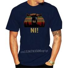 Camiseta de un caballero que dice Ni, camiseta de Monty Python y el Santo Grial, Clas, novedad de 2020