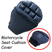 Honeycomb Mesh Sunscreen Breathable Non slip Shock Absorption Motorcycle Seat Cushion Cover For 13 Grids