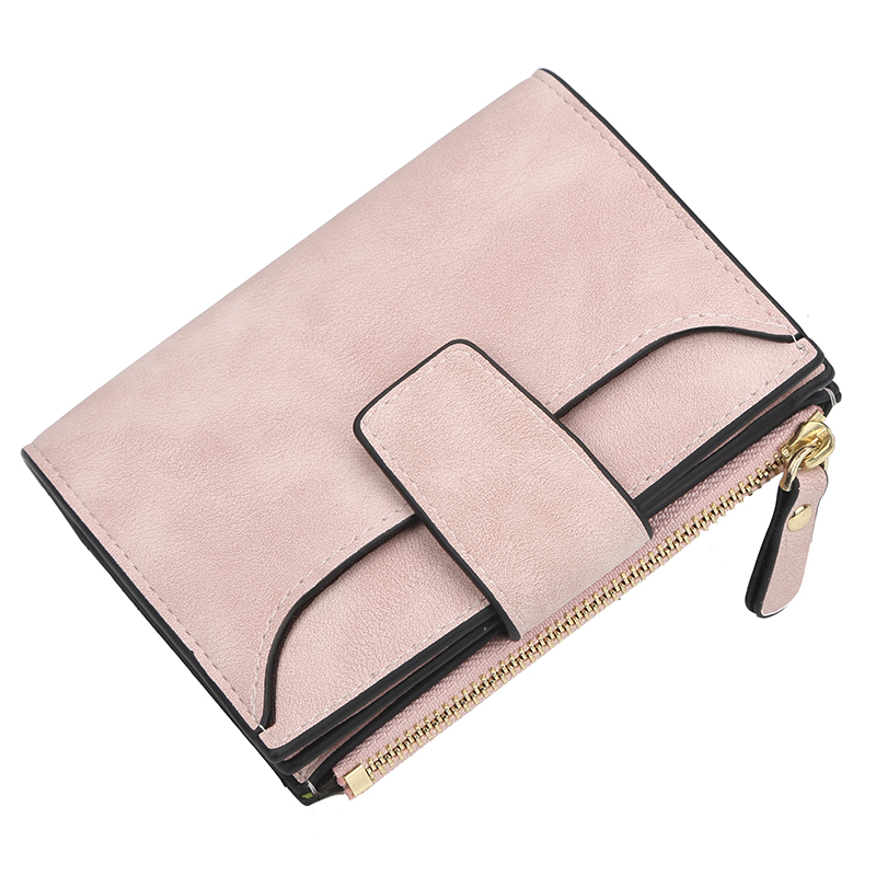 New PU Leather Women Wallet Hasp Small And Slim Coin Pocket Purse Women Wallets Cards Holders Luxury Brand Wallets Designer Purs