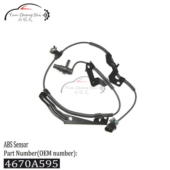 4670A595 High Quality Front Left ABS Sensor For Mitsubishi Triton L200 Pajero Montero Sport Challenger Nativa After 2011 image