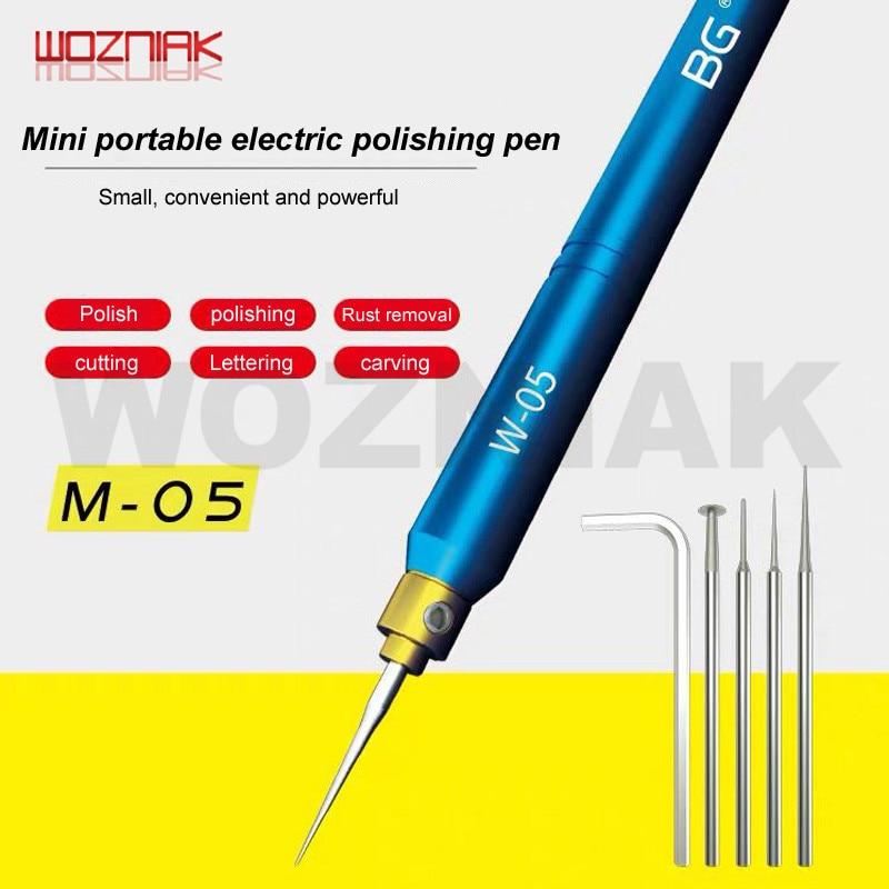 WOZNIAK Maintenance charging Mini carving pen Electric grinding engraving machine Grinding / cutting / polishing / lettering