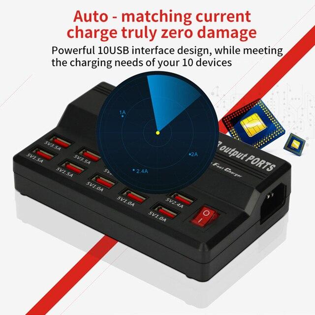 Фото зарядное устройство с портом usb 10/12 быстрая зарядная станция цена