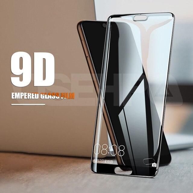 15D Full Cover Tempered Glass on the For Huawei P20 Lite P20 Pro Nova 5 5i