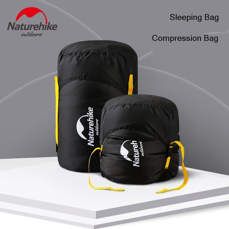 Naturehike Sleeping Bag Storage Bag 300D Fabric Multi-function Compression Sack Waterproof Portable Travel Sundries Bag Camping image