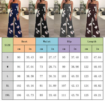 New Womens Summer Playsuit Romper Jumpsuit Ladies Sleeveless Casual Floral Print Sleeveless Fashion Jumpsuit 2019 Hot Plus Size 5