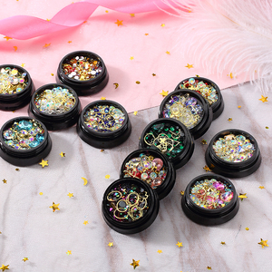 MORDDA 12 Style Crystals Mix Rhinestone Decoration For Nails Design Crystal Nails Art Decorations 3D Nail Jewelry For Manicurea(China)
