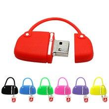 Tasche 8 GB Personalisierte Stick 64GB 128 256 8 gb 4GB Mini Cle USB 16GB 32GB 128GB Pen Drive 256GB Memoria Stick Lustige-Stick