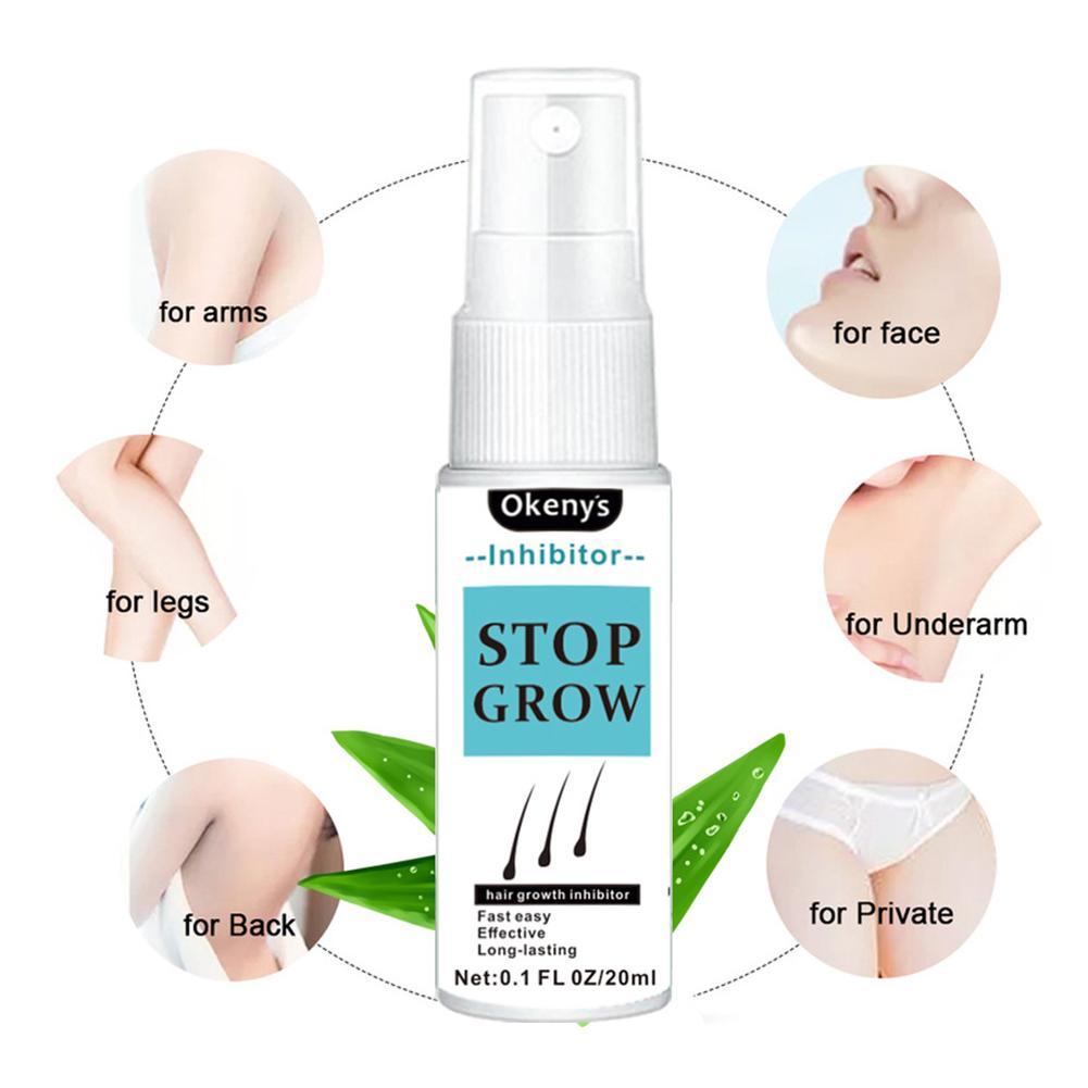 pulverizador da remoção do cabelo de 5