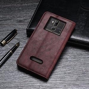 Image 4 - Für Oukitel K7 Pro Fall Luxus Retro Niet Brieftasche Flip Leder Telefon Fall Für Oukitel K7 Power Abdeckung Coque Zubehör