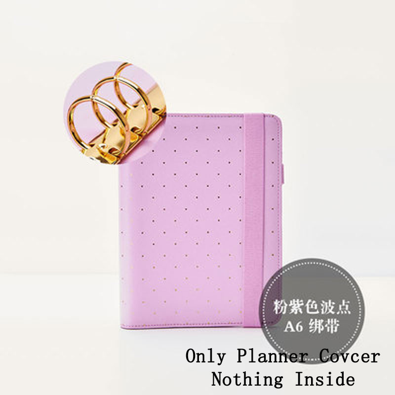 Lovedoki Defect PU Leather Notebook Mint A6 Bullet Journal Spiral Planner Cute Zipper Case Book Diary Agenda Organizer Gift
