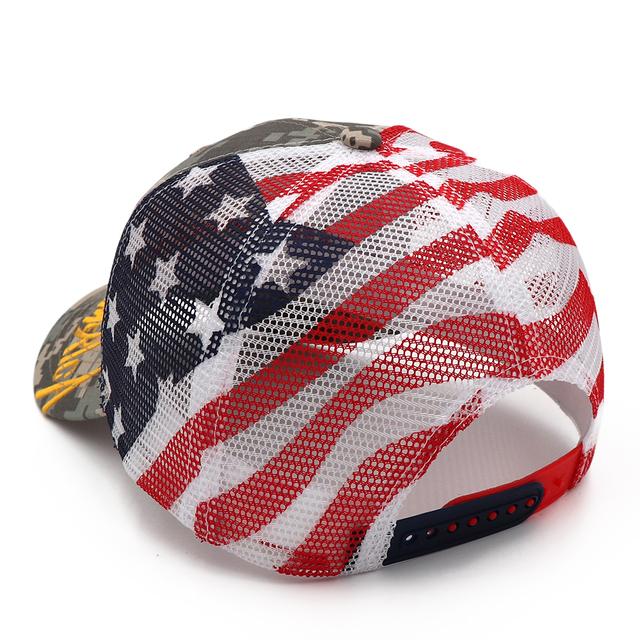 President Donald Trump 2020 Camo Embroidery Baseball Hat
