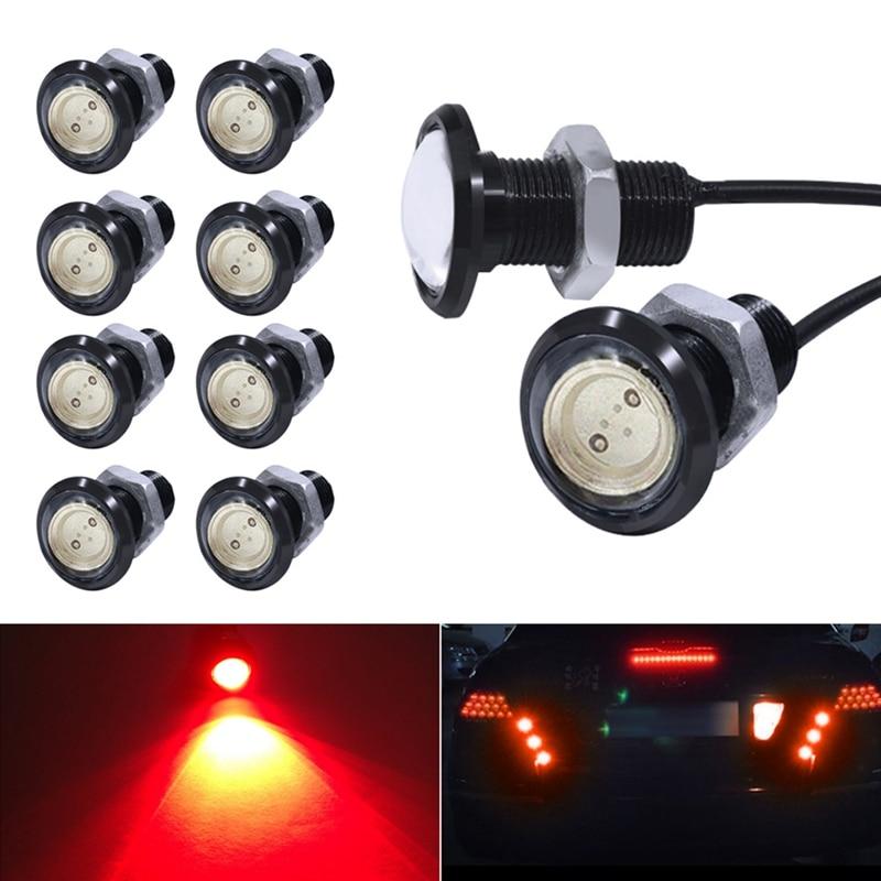 Купить lcyonger 10 шт/компл автомобильный светодиодный орлиный глаз