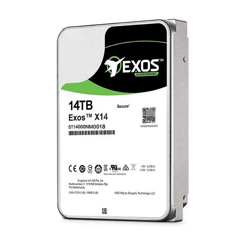 """New HDD For Seagate Brand 14TB 3.5"""" 256MB 7200RPM For Internal HDD For Enterprise Class HDD For ST14000NM0018 ST14000NM001G 4"""