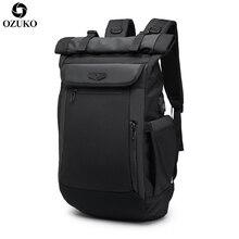 2020 OZUKO nowy wielofunkcyjny mężczyźni plecak USB ładowania laptopa plecaki dla nastolatków mody tornister wodoodporny podróży Mochila