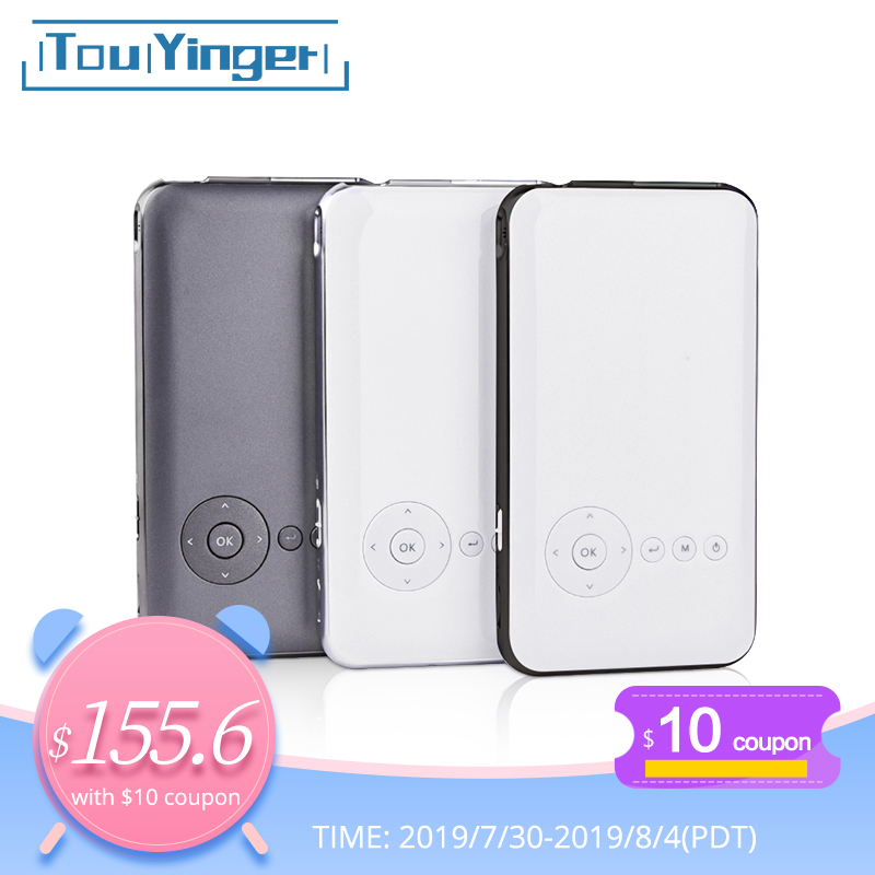5000mah Touyinger Everycom S6 plus Mini pocket projector dlp wifi portable Handheld smartphone Projector Android AC3