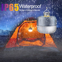 цена на 10W Outdoor Camping Light USB Rechargeable Magnet Portable Lantern Camping Lamp For Outdoor Camping Travel Hiking