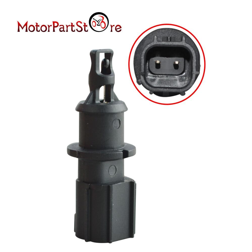 Schwarz Kunststoff Ansaugluft Temperatur Sensor Fit für Chrysler Dodge Jeep Ram 4606487AA 4606487AB 5S1024 AX109 SU3229 GT7610-930