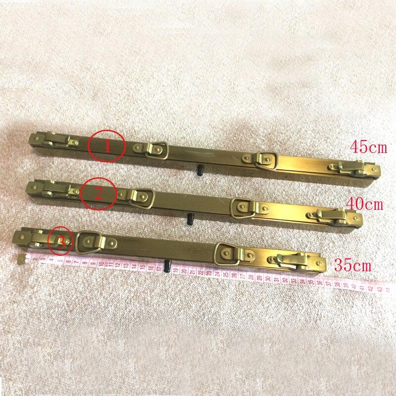 Где купить Доктор металлическая рамка сумки бронзовые рамки для сумок винтажные анти бронзовые доктор с двойной крышкой заклепки 35 40 45 см