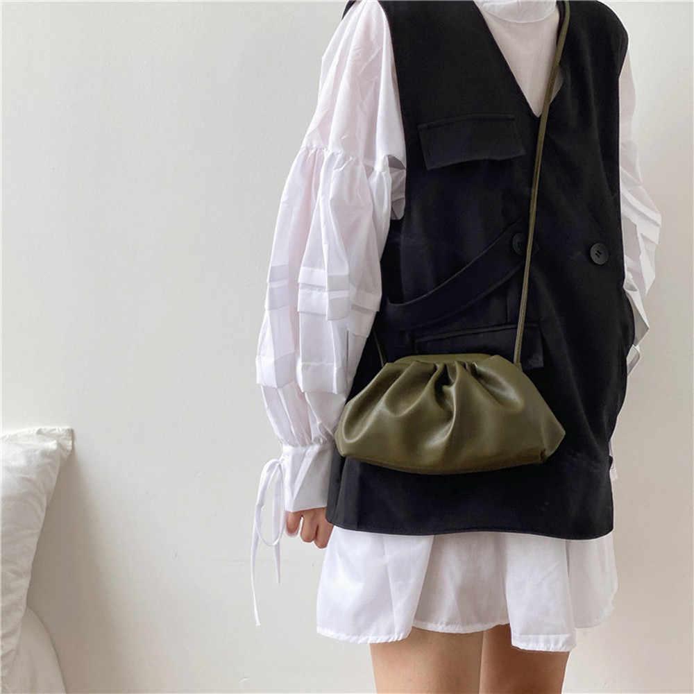 Riezman Solid Color elegancki Crossbody torby dla kobiet 2019 mała portmonetka kobiet Party torebki i portmonetki pani na ramię Messenger