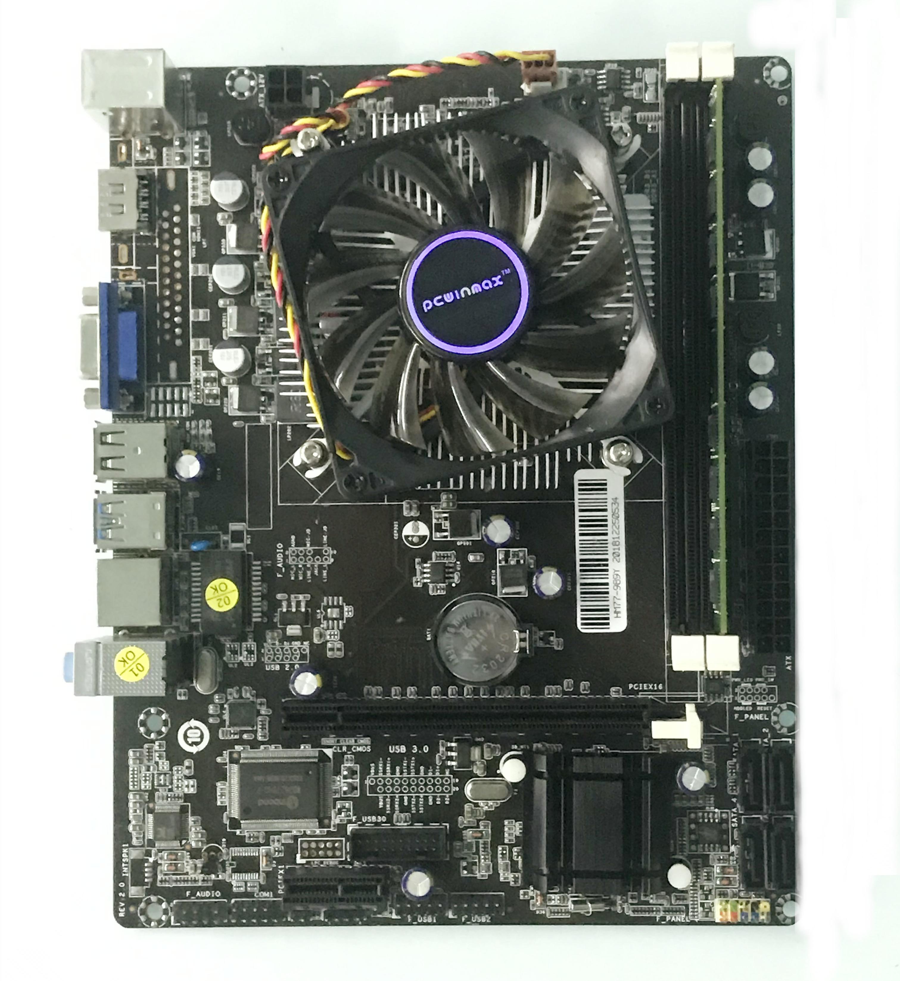 For Intel G41 LGA 771 X 2*DDR3 Motherboard core Fr generation 2//3 CPU USB 2.0 OB