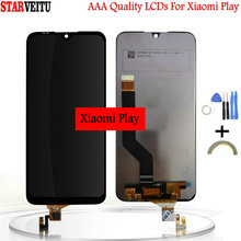 5.84 Original Display For Xiaomi Play LCD Touch Screen Digitizer Assembly Miplay MTK Helio P35 Replacement