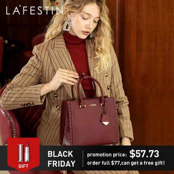 LA FESTIN 2018 New Women Handbag Leather Tote Handbags Luxury Multifunctional Versatile Bag Ladies Luxury Handbags Designer Bag - Category 🛒 Luggage & Bags