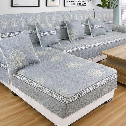 Four Seasons General Cloth Sofa Cushion, Anti-skid Cover, Simple Modern Cushion, Full Back Cushion.