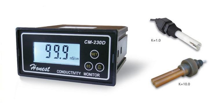 CM-230D Ultra-large-range Online Conductivity Tester 0-20ms