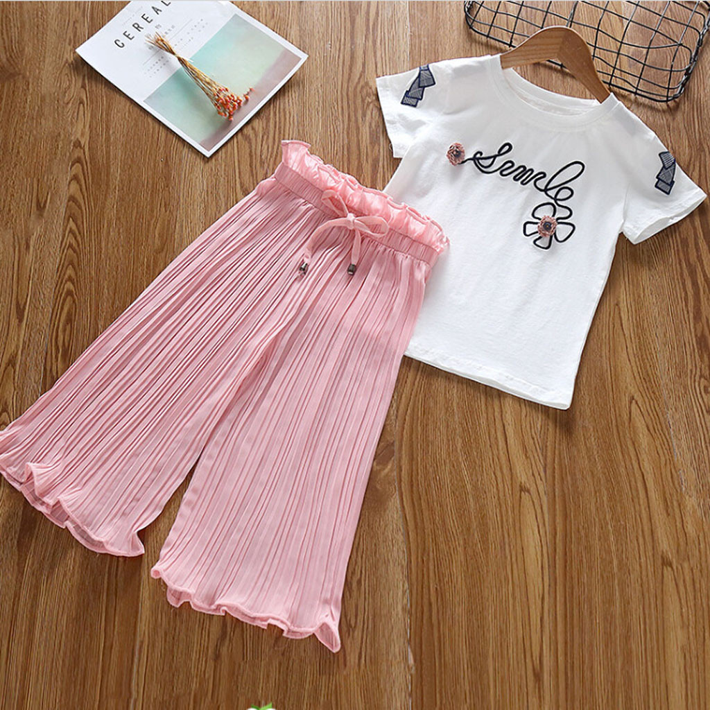 Toddler Baby Girls Short Sleeve t-Shirt Tops Overall Shorts Pants Outfits Suit Rabbit Photoshoot Party Casual Clothes