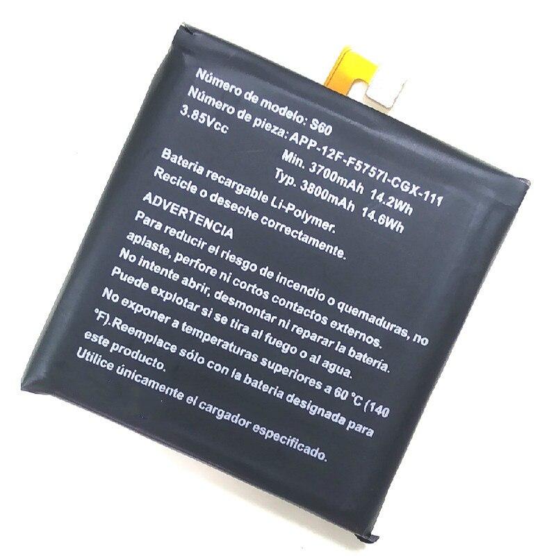 STONERING 3800mAh S60 Battery APP-12F-F57571-CGX-111 For Caterpillar CAT S60 Mobile Phone