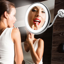 Makeup Vanity Mirror With 10X Lights LED mirror light LED makeup mirror with led light espejo de maquillaje