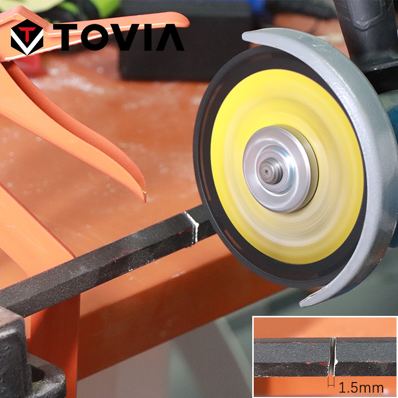 Купить с кэшбэком TOVIA 125mm Diamond Circular Saw Blade Cutting Steel Stainless Steel Aluminum Cutting Disc For Metal Saw Blade 115mm Saw Disc
