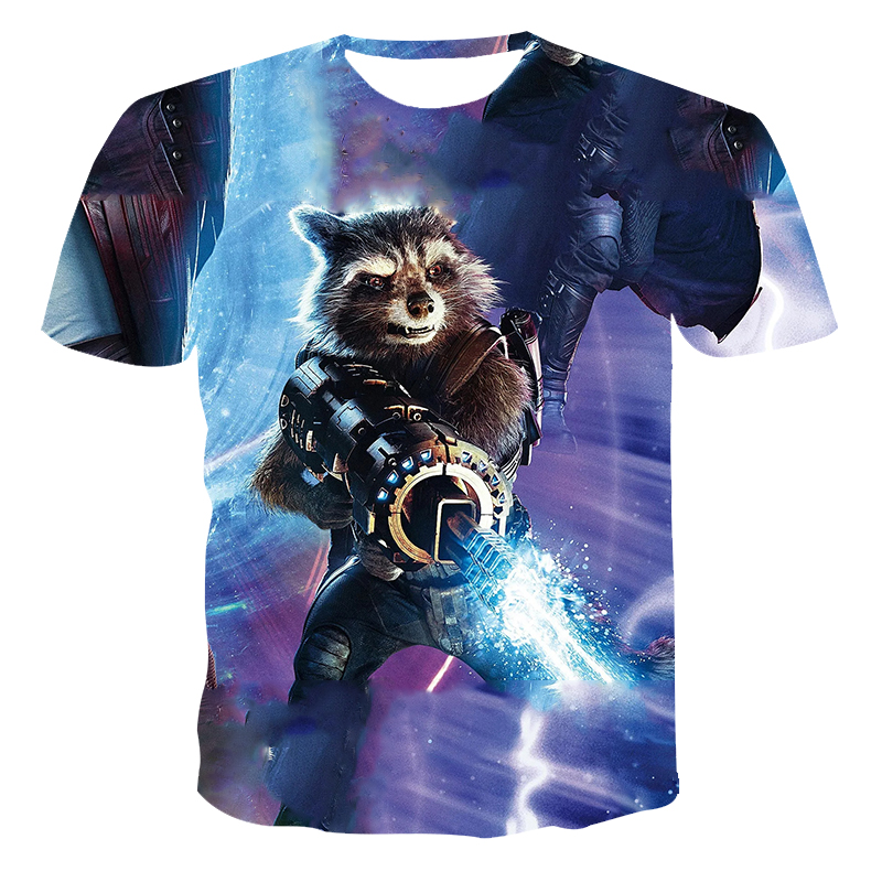 New 3D Men T-shirt Bear Warrior Pattern Men's Clothing The Streets Of Leisure Short Sleeve Men's Summer Fashion Print T-shirts