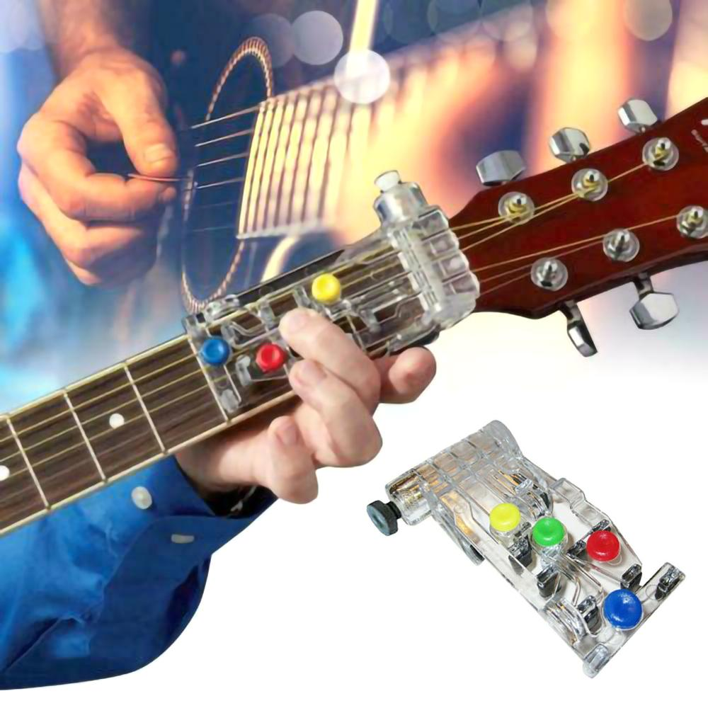 Classical Chord Buddy Teaching Aid Guitar Tool Guitar Learning System Teaching Aid Accessories For Guitar Learning Pain-proof
