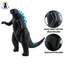 16cm New Kaiju Dinosaur Action Figure Model Collection Toys Large Size ABS Body Turnable Figure Toy For Boy Birthday Gift large size classic dinosaur toy triceratops soft animal model collection for boys action