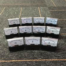 1 stücke DH670 Strom Amperemeter Analog Amp Panel Meter Mechanische Zeiger Gauge DC 100mA 5A 10A 15A 20A 30A 50A 100A 200A 300A 500A