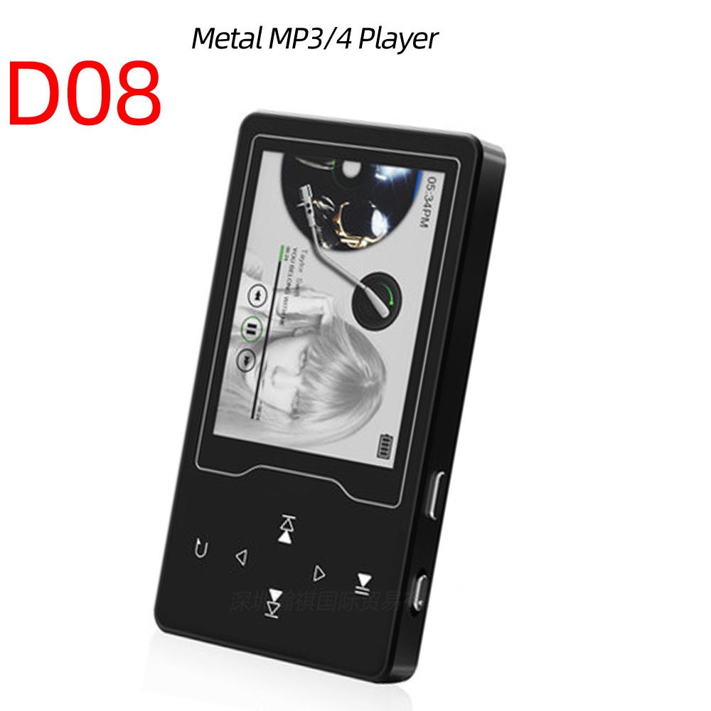 Tüketici Elektroniği'ten MP3 Oynatıcı'de Taşınabilir Bluetooth MP4 ince dokunmatik ekran MP5 Metal MP4 tam Format kayıpsız müzik stereo çalar destekler 24 dil OTG TXT title=