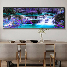 5D Diamond Painting Landscape DIY Embroidery Cross Stitch Rhinestone Mosaic Home Decorative