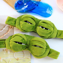 Cute frog eyes mask high quality sleep mask Frog expression goggles funny kid's masks Ice masks for travel ice eyeshade sleep mask shading breathable goggles men and women cute expression ice pack eye protective antifaz para dormir