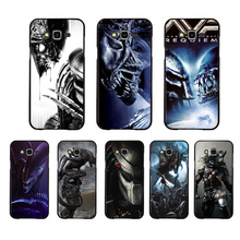 NBDRUICAI Alien Vs Predator DIY Luxury Phone Case For Samsung Galaxy J7 J8 J3 J4 J5 J6 Plus 2018 Prime(China)