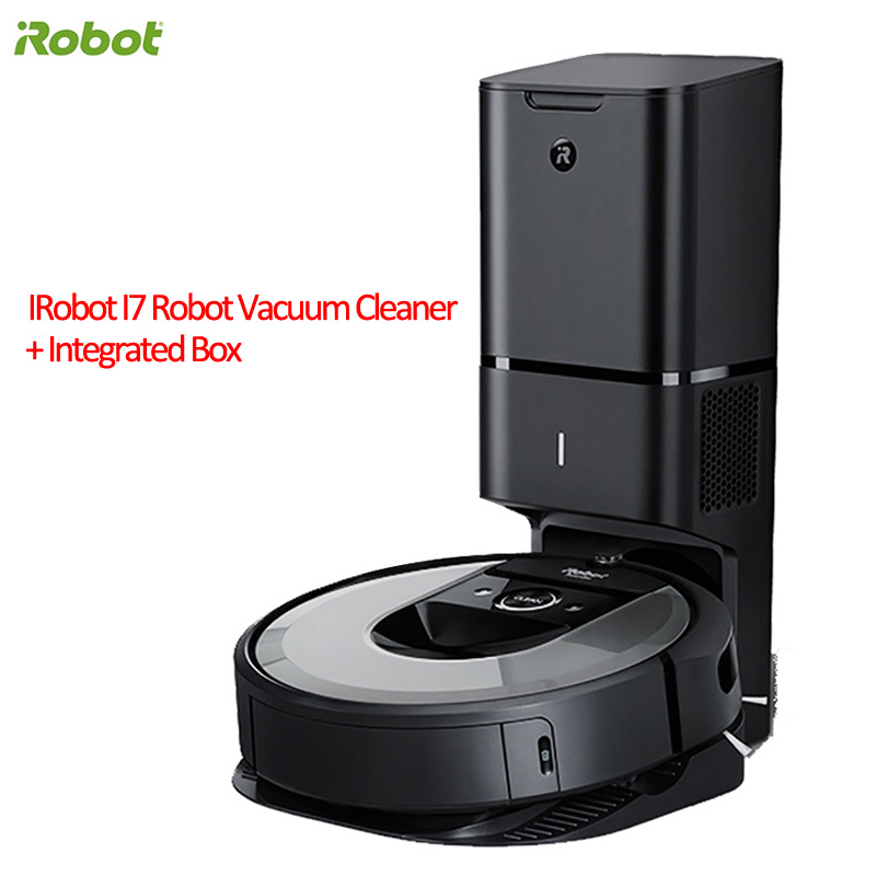 Irobot Roomba I7 Plus Robot Vacuum Cleaner Automatic Dirt Disposal Imprint Smart Mapping App Control With Integrated Box Base Vacuum Cleaners Aliexpress