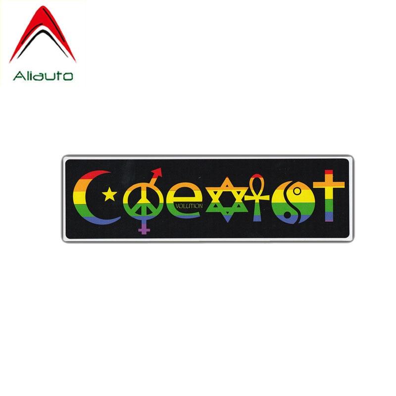 Atheist Symbol Car Windscreen Window Vinyl Funny Sticker 408