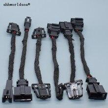 Shhworldsea 1PCS Hochtöner Tür Lichter Stecker Elektrische Trunk Kennzeichen lichter Stecker Für VW Audi 3B 0 972 712 1J 0 971 972